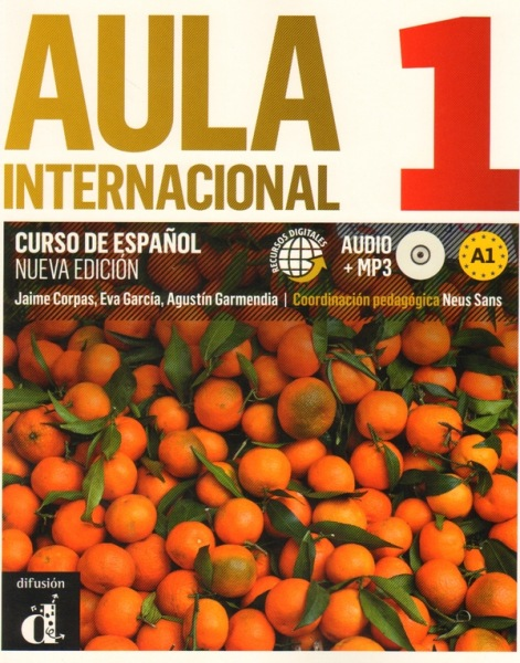 Aula Internacional A1 Spanish text book